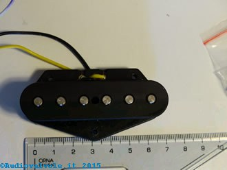 pick-up single coil per Chitarra elettrica solid body