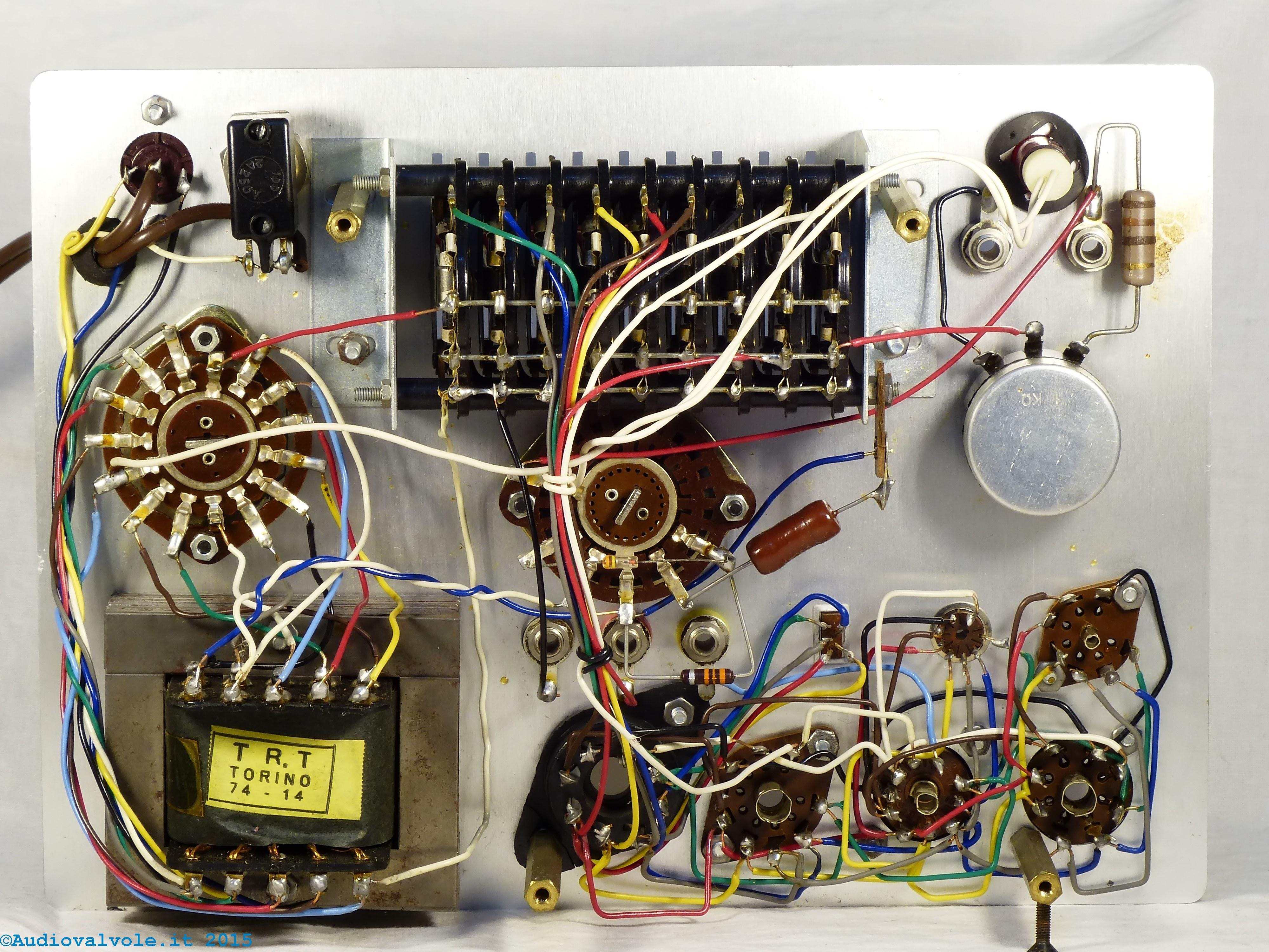 Schemi Elettrici Radio A Valvole : Prova valvole a levette scuola radio elettra torino