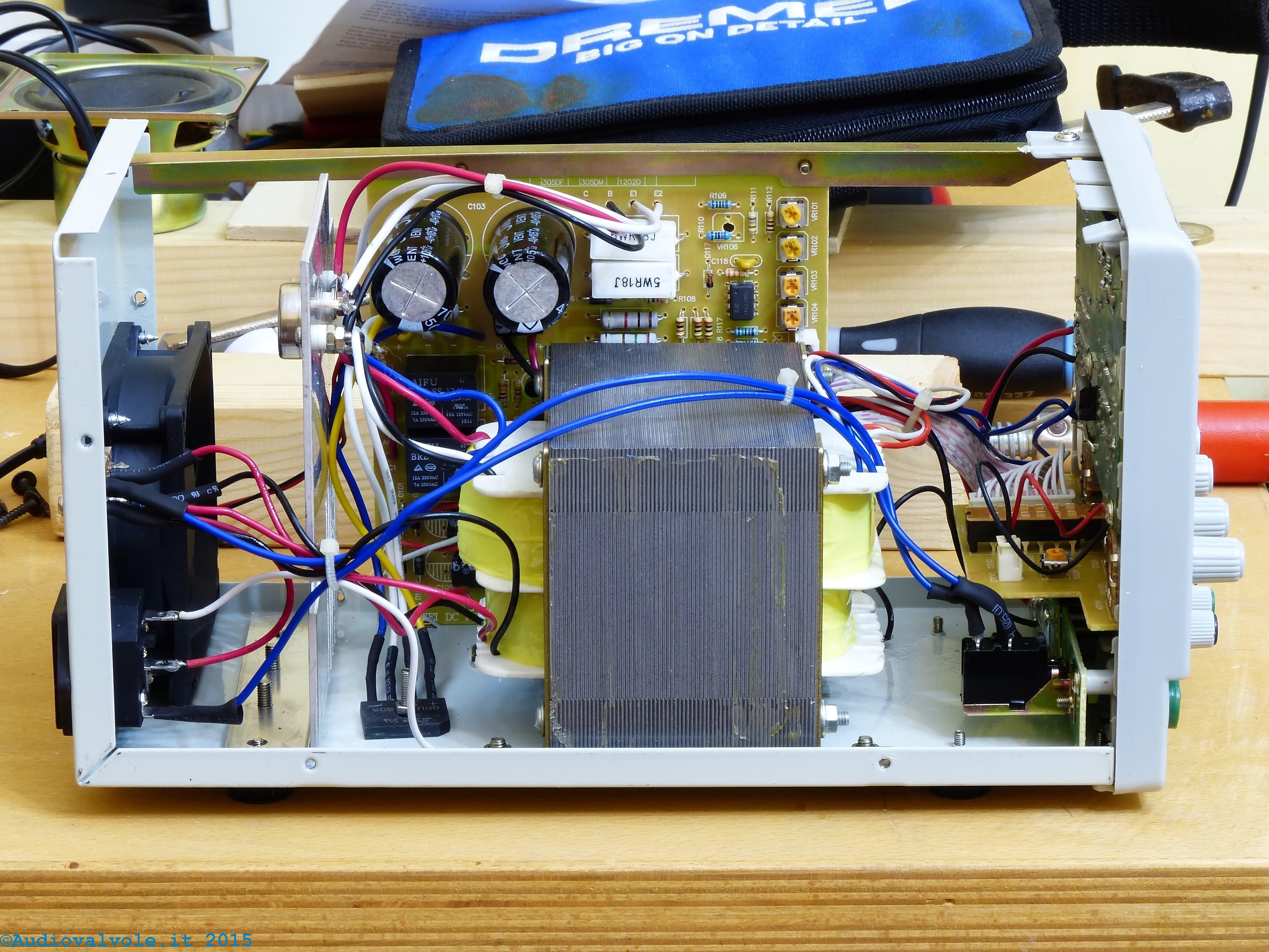 Schema Elettrico Alimentatore Pc Atx : Alimentatore ps d v a per laboratorio