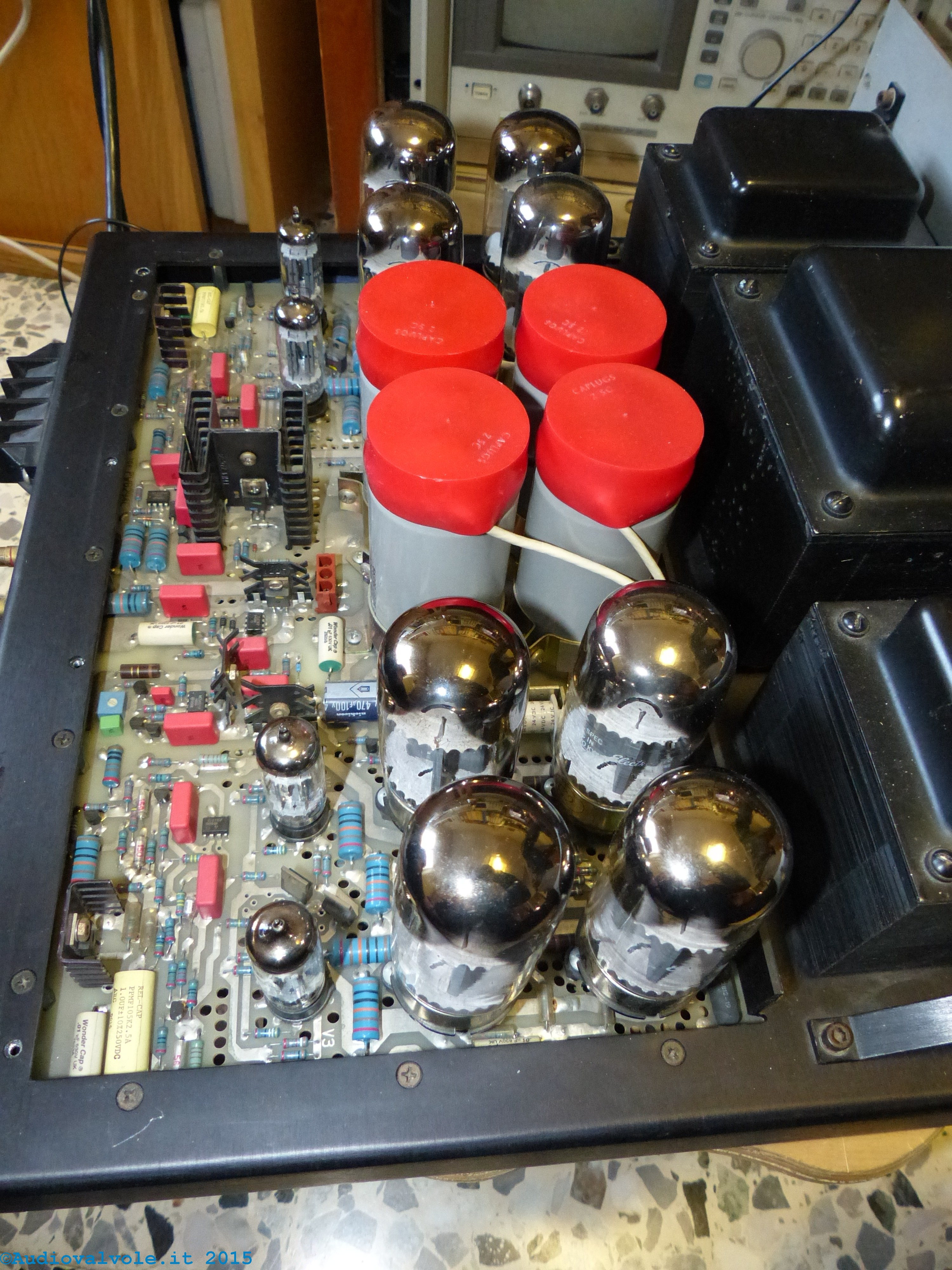 Schemi Elettrici Hi Fi : Trucchi costruttivi degli amplificatori a valvole