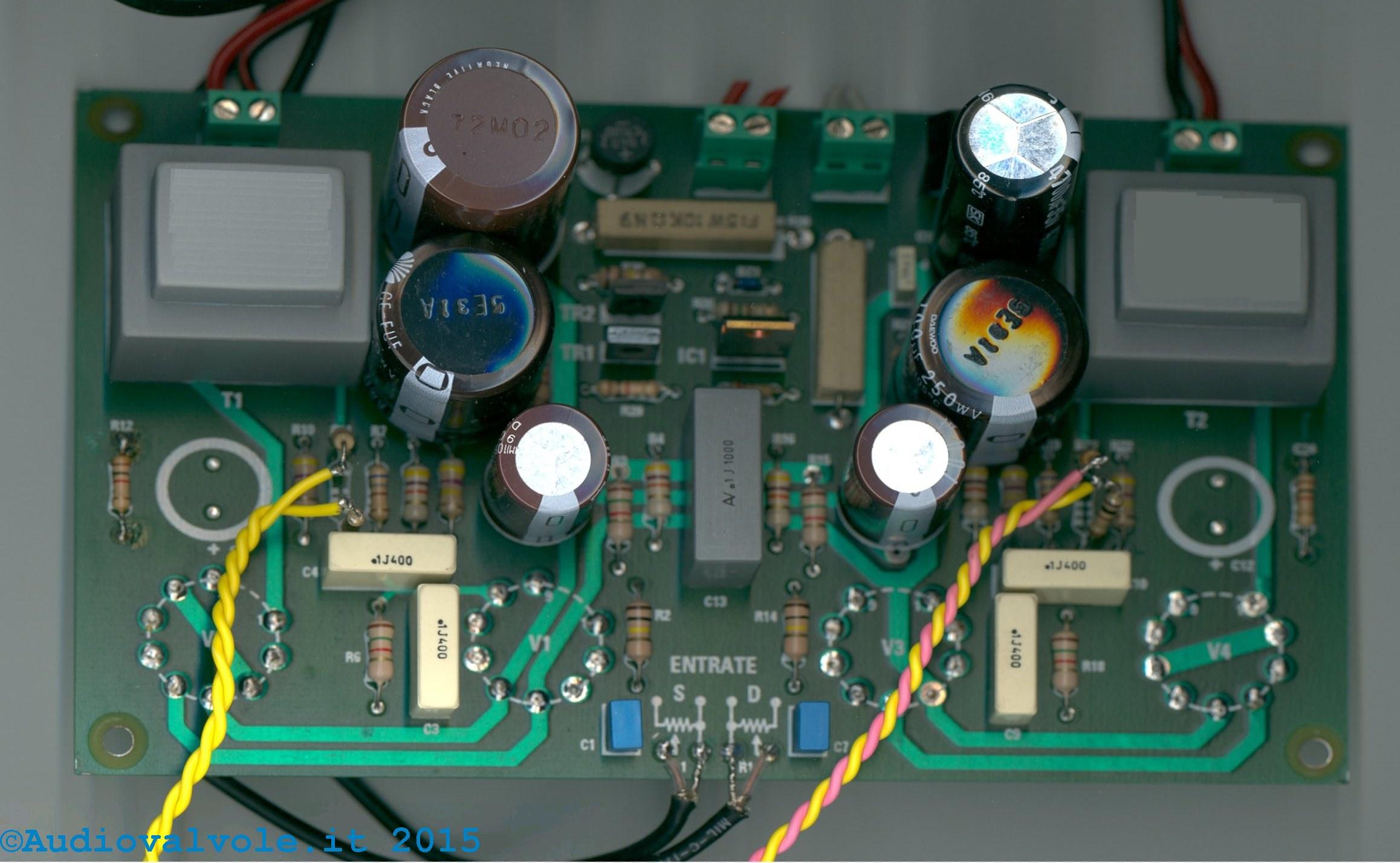 Schemi Elettrici Kit Nuova Elettronica : Studio di un caso reale amplificatore valvolare per cuffia